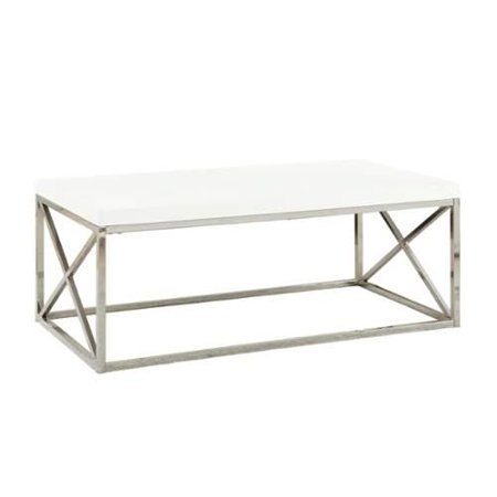 Monarch specialties coffee table i 26 inch long cocktail for Coffee table 72 inch