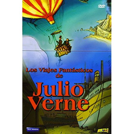 Fantastic Trips of Jules Verne (6 Cartoons) - 3-DVD Box Set ( Around the World in 80 days / Trip to the Center of the Earth / The Mysterious Island / Caes [ NON-USA FORMAT, PAL, Reg.0 Import - Spain ]