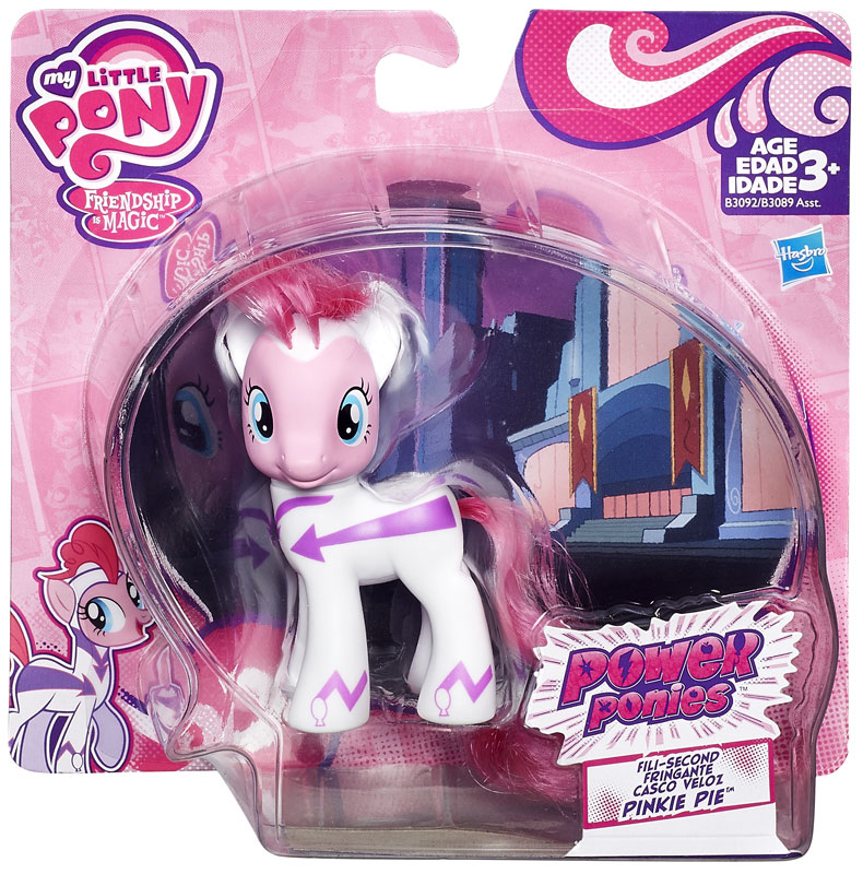 My Little Pony Power Ponies Pinkie Pie Figure [Fili-Second]