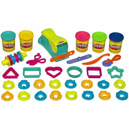 Play-Doh Fun Factory Mega Set with 5 Cans of Dough & 40+ Tools