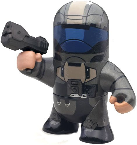 3 McFarlane Toys Odd Pods Series 2 Stylized Figure ODST: The Rookie, Made by McFarlane in 2009 By Halo Ship from US