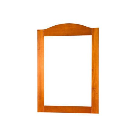 100% Solid Wood Frame Mirror 57106, Java Color (Mahogany Landscape Mirror)