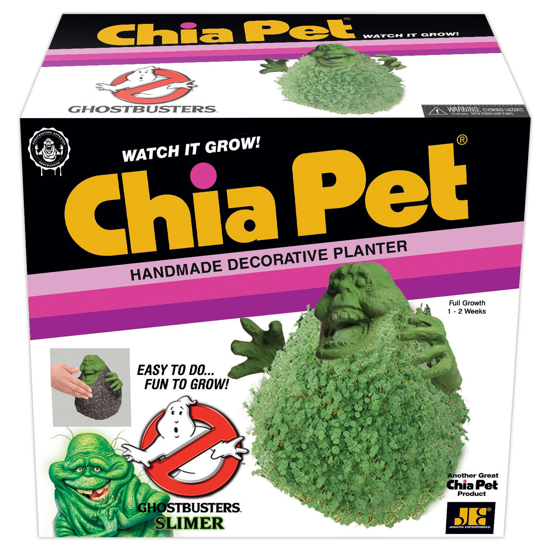 "Chia Pet ""Slimer"" (Ghostbusters) Decorative Pottery Planter"