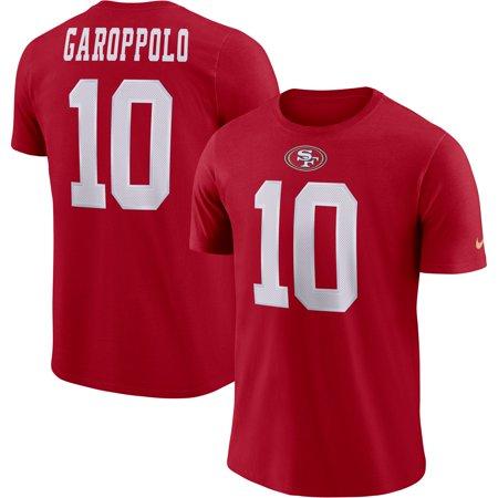 brand new 3a364 08475 Jimmy Garoppolo San Francisco 49ers Nike Player Pride Name & Number  Performance T-Shirt - Scarlet - Walmart.com