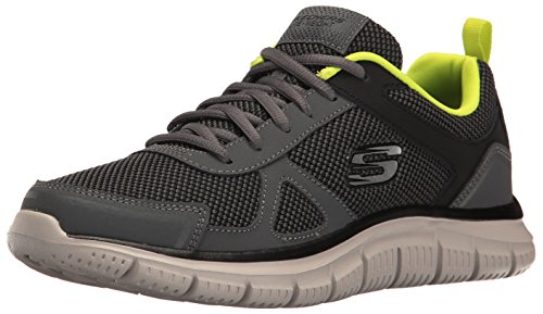 track oxford,charcoal/lime,11.5 m