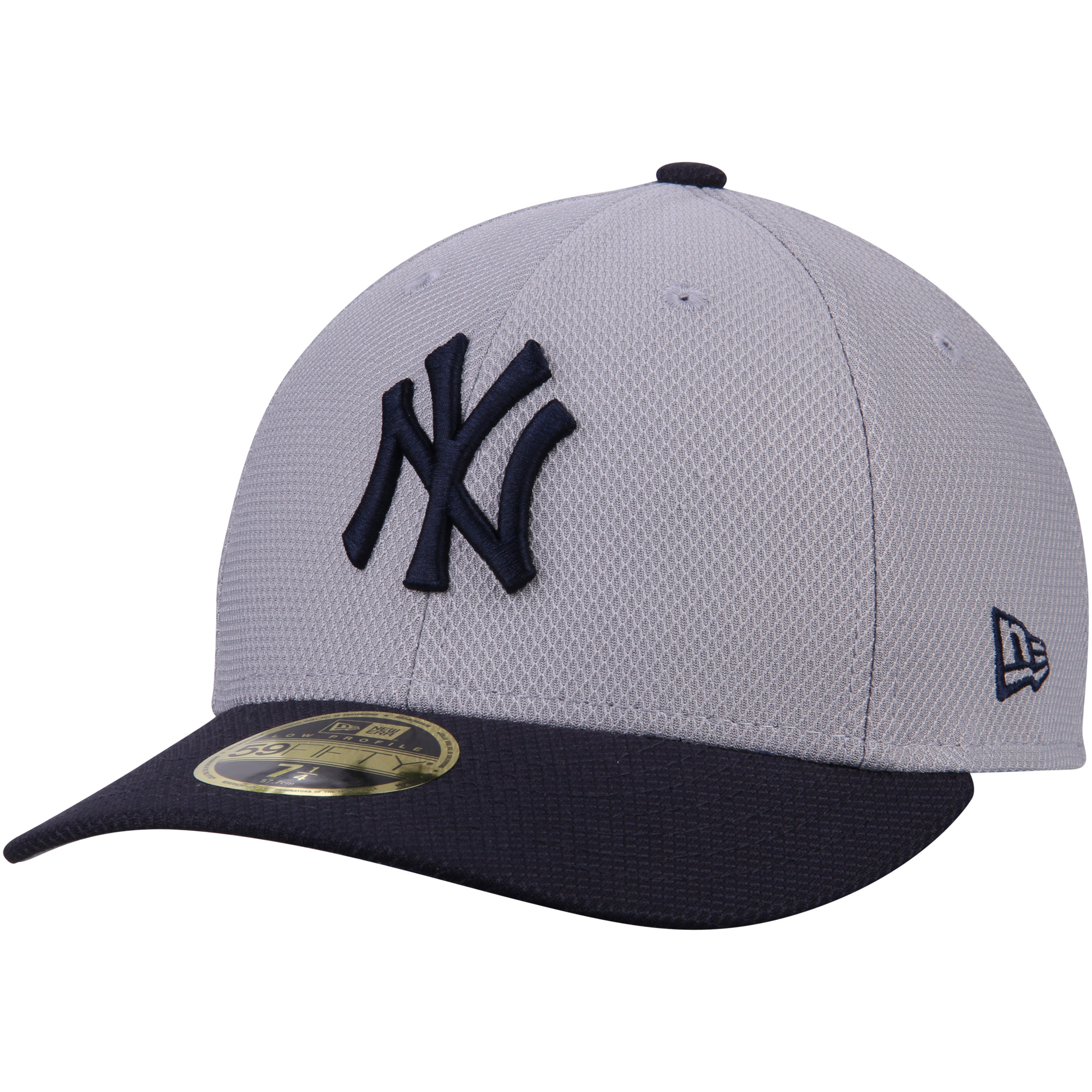 0bb3935dd3d New York Yankees New Era 2017 Spring Training Diamond Era Low Profile  59FIFTY Fitted Hat - Gray - Walmart.com