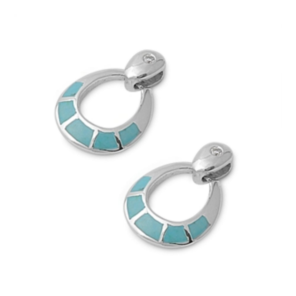 925 Sterling Silver Earrings With Stone