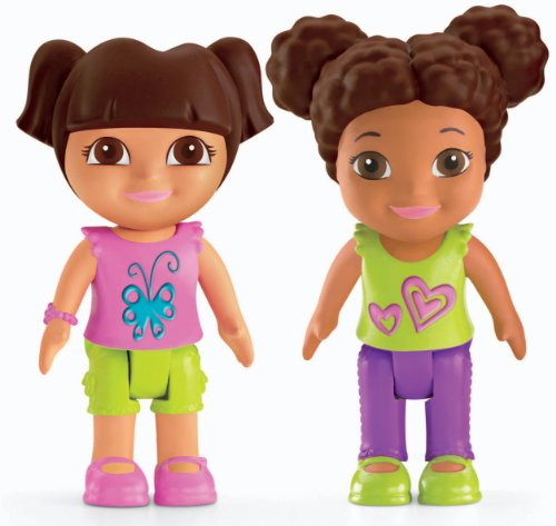 Fisher Price Dora The Explorer Playtime Together Dora and Me Play Dates : Dora and Brown... by