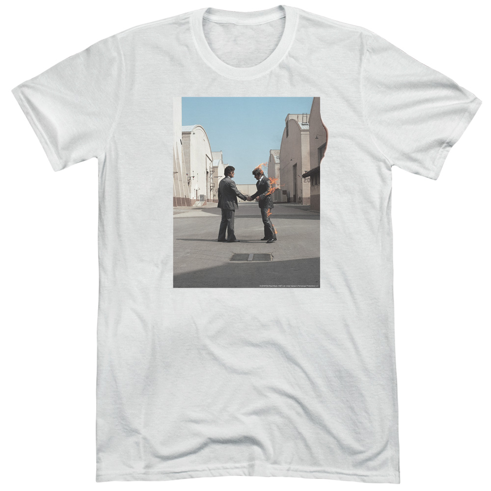 Pink Floyd Wish You Were Here Mens Adult Tri-Blend T Shirt