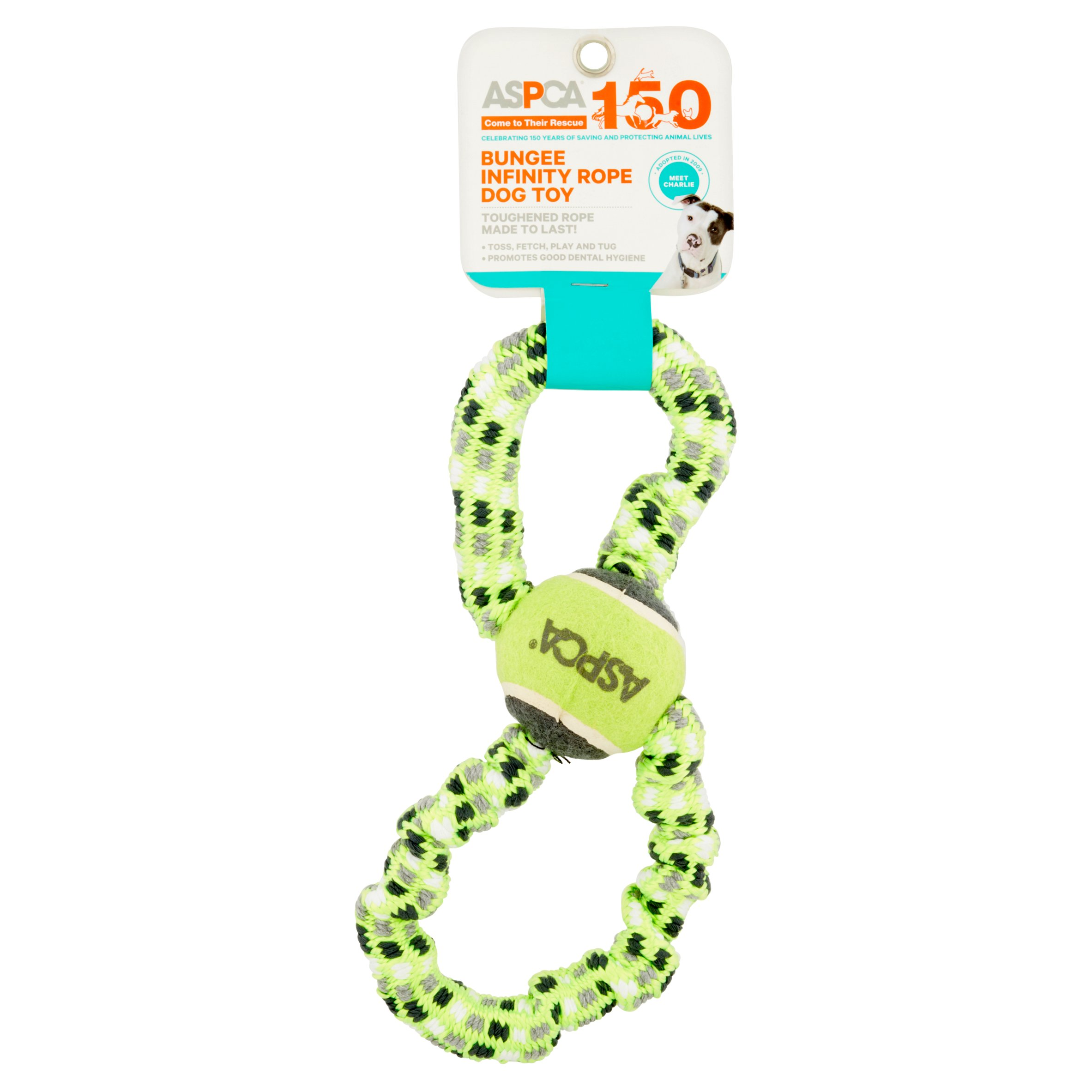 ASPCA Blue Bungee Infinity Rope Dog Toy