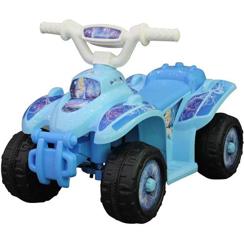 Disney Cinderella Quad 6-Volt Battery-Powered Ride-On