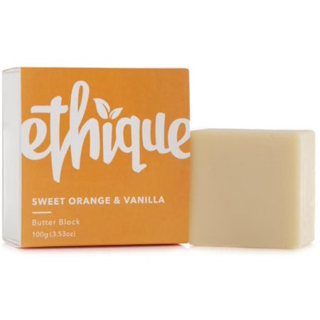 Ethique  Butter Block, Sweet Orange & Vanilla 3.53 oz (353 Bronze Bar)