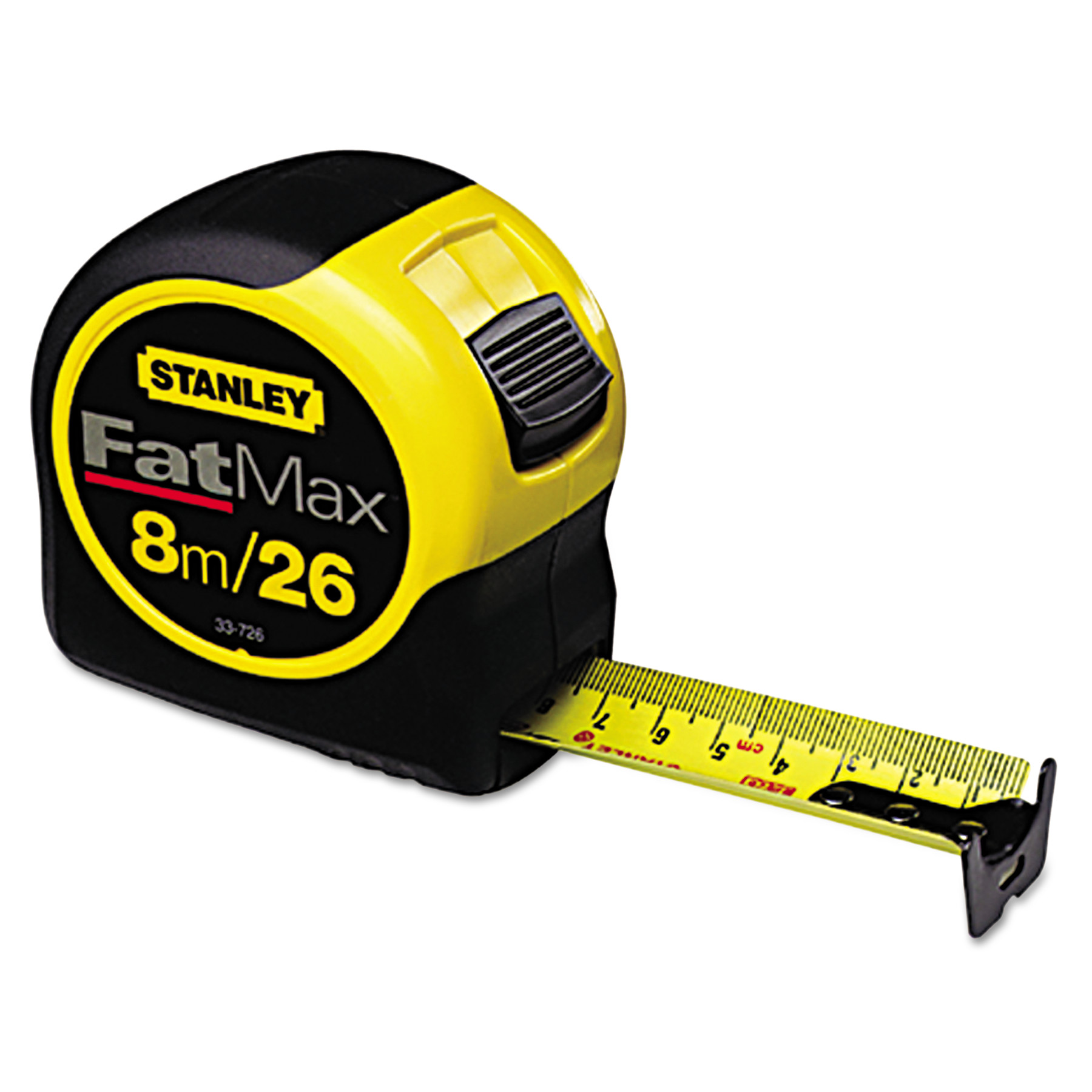 Stanley Tools FatMax Blade Armor Reinforced Tape Measure, 1 1/4in x 25ft