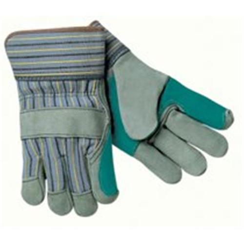 Memphis Glove 127-1420A Large Knit Wrist Leatherpalm Glove Gunn Patter