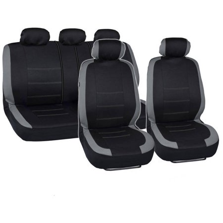 BDK Venice Sport Car Seat Covers With Floor Mats And