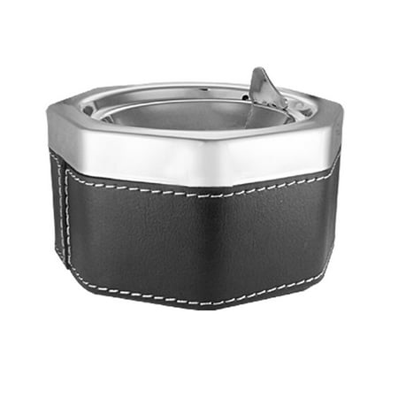 Metal Octagon Shaped  Ashtray for