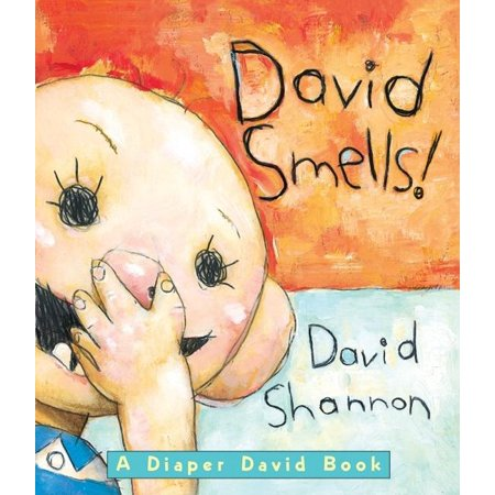 David New Book - David Smells (Board Book)