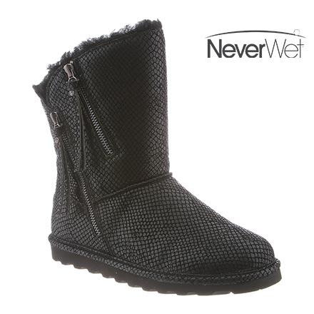 Bearpaw Womens Mimi: 8 In. Boot (Black Snake, (11)