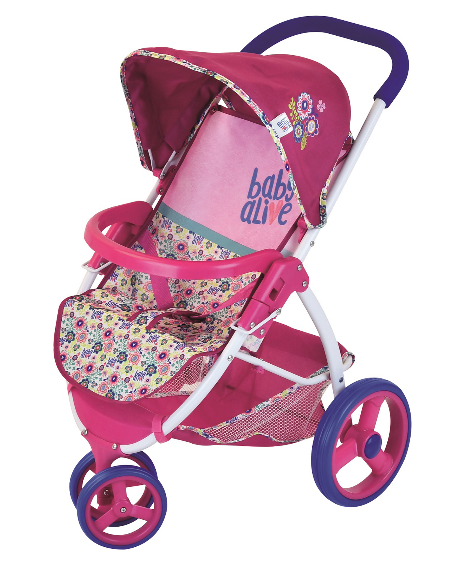 Hasbro Baby Alive Lifestyle Stroller Walmart