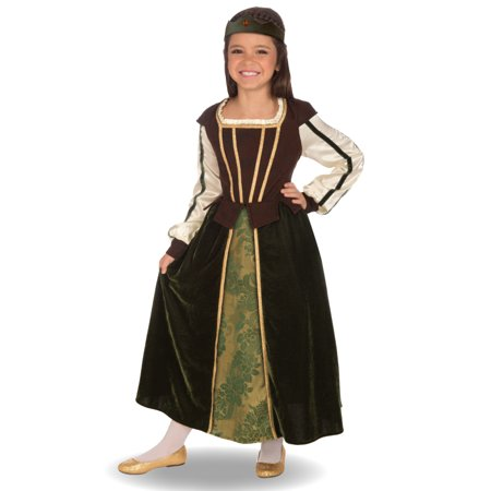 Medieval Maid Marion Costume - Maid Marian Costume Child
