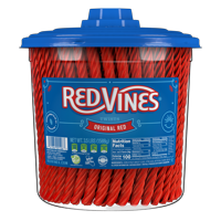 Red Vines Original Red Twists, 3.5lb Jar