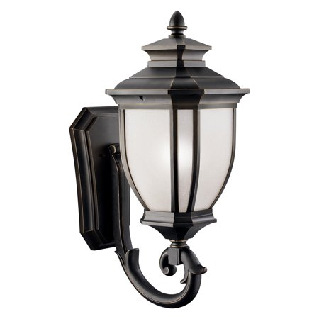 Kichler Salisbury 1100 Outdoor Wall Lantern - Rubbed Bronze