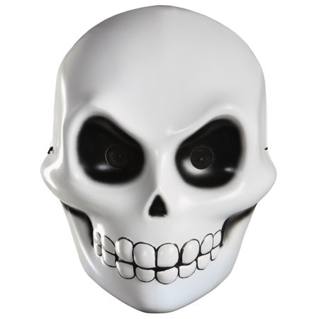Skeleton Skull Grim Reaper Scary Horror Adult Vacuform Halloween - Scary Face Paint Designs For Halloween