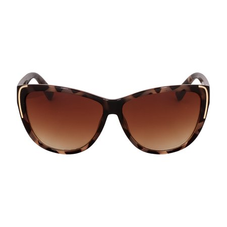 Kenneth Cole Reaction Plastic Frame Gradient Brown Lens Ladies Sunglasses (Best Oakley Lenses)