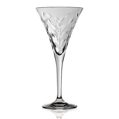 Lorren Home Trends Laurus 6 Oz Crystal Flute Set Of 6 Walmart Com Walmart Com
