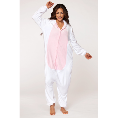 C1808 PINK UNICORN Adult Onesie