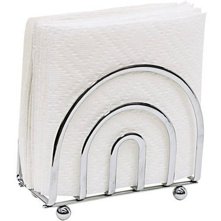 Home Basics Satin Nickel Napkin Holder