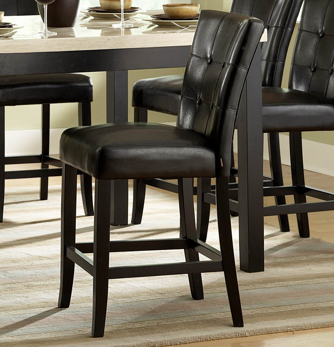 Woodhaven Hill Archstone 24'' Bar Stool with Cushion (Set of 2)