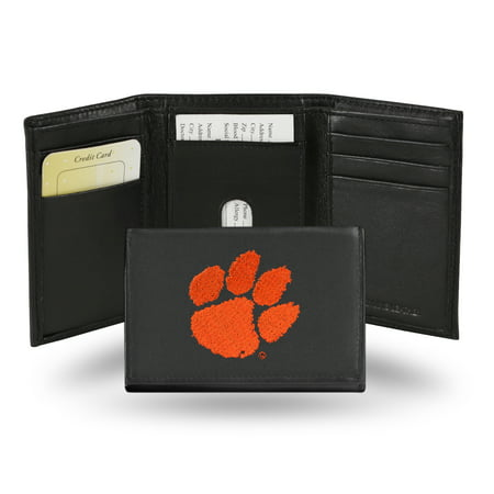 NCAA Embroidered Trifold, Clemson -