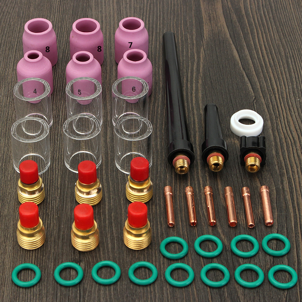 581302 Alumina Nozzle Arc Welding Gas Lens Metalwork For TIG Torches WP-9 WP-20