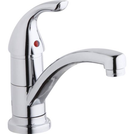 Elkay LK1500CR Everyday Kitchen Single-Hole Faucet, Chrome ()