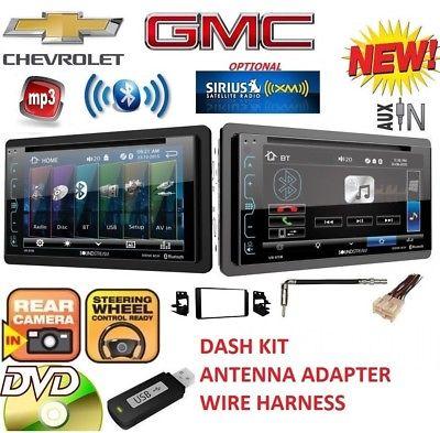 95-02 GM TRUCK/SUV DVD USB CD AUX BLUETOOTH CAR STEREO RADIO OPTIONAL SIRIUSXM