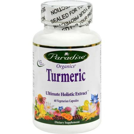 Paradise Herbs Essential Turmeric - 60 Vegetarian
