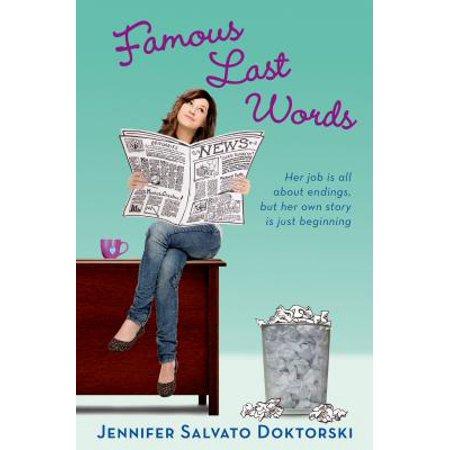 Famous Last Words - eBook