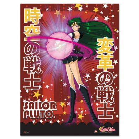 Wall Scroll - Sailor Moon S - New Pluto Anime Fabric Art Licensed Gifts ge60012 (Sailor Moon Halloween Fan Art)