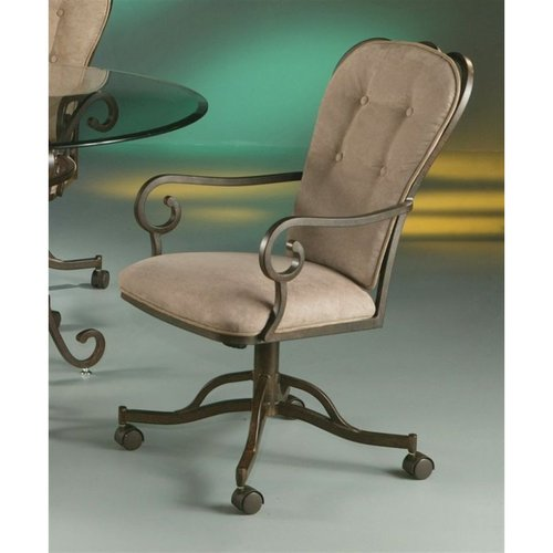 Pastel Furniture QLMA16039631 Magnolia Caster Dining Chair