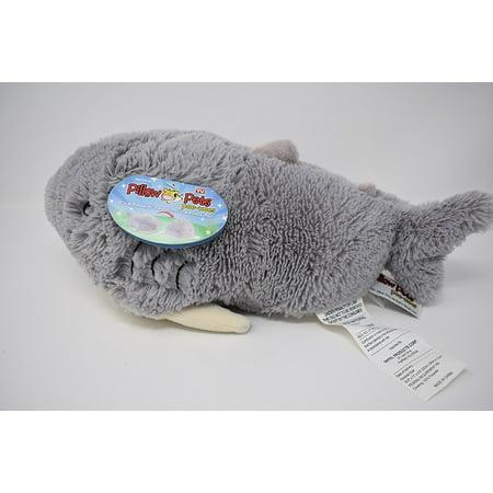 Grey Pillow Pet PeeWee Shark