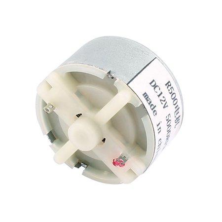 R500 DC 12V 5000RPM Flat Shaft Cylindrical Micro Model Magnetic DC Motor