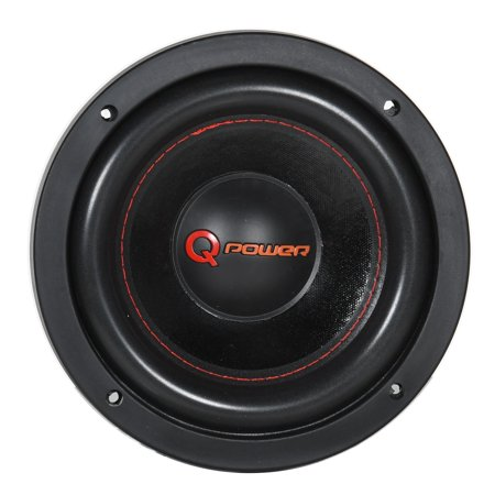 Super Component (Q Power Car Audio Super Heavy Duty 1500 Watt 8 Inch DVC Component)