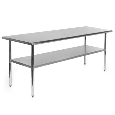 GRIDMANN NSF Stainless Steel Commercial Kitchen Prep & Work Table - 60 in. x 30 - Commercial Style Stainless Steel