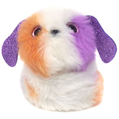 Pomsies Poo Series 1 Spot (Puppy) Plush Toy with clip