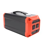 Unique Bargains 300W 73000mAh Portable Generator Power Source Supply Charged by Solar Panels