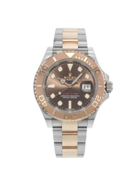 Rolex Yacht-Master 116621 CHSO 18K Rose Gold Steel Automatic Mens Watch