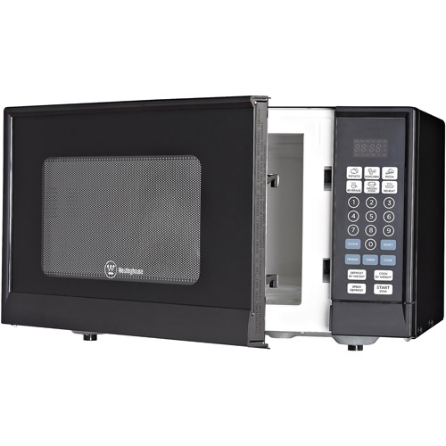 Westinghouse 0.9-cu. ft. Microwave, Black