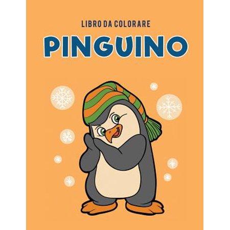 Libro Da Colorare Pinguino - Disegni Halloween Da Colorare