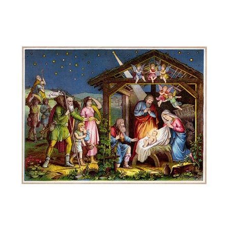 Victorian Artwork (Books for Christian children about the life of the baby Jesus were fairly common in Victorian time and the artwork was exceptional often because of the passion of the artist about the subject  This a )